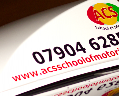 Acs-Shool-of-Motoring Vehicle livery